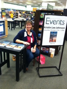 That's me at a book signing at the Mankato Barnes and Noble